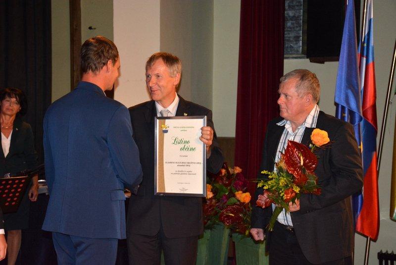 Podelitev nagrade občine Gornja Radgona